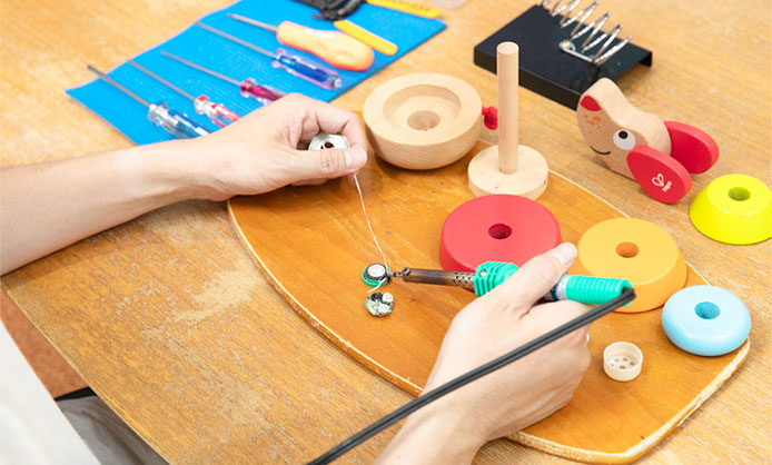 POINT07 おもちゃドクター監修による修理