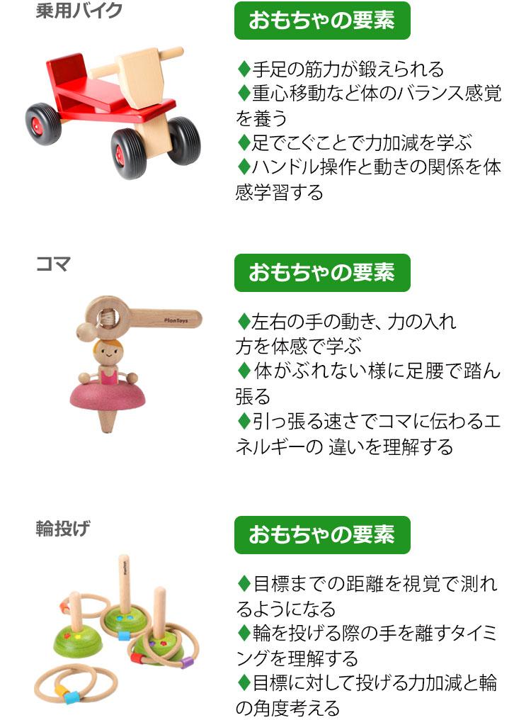 アスリートタイプのおもちゃ